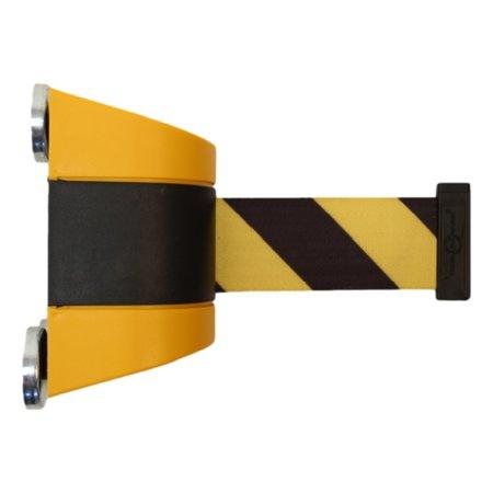 SalesBridges Magnetisch trekband muurcassette 4.6m  Geel/Zwart