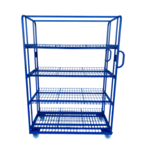 Order Picking Rollcontainer 130x65x190cm e-commerce trolley
