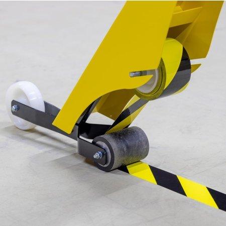 SalesBridges Vloerbelijning vloermarkering met markeerapparaat