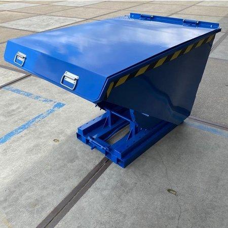 SalesBridges Benne auto-basculante 600L MC model  pour chariot élévateur