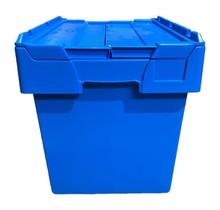 ALC krat 60x40x44 cm Eurobox ALC Bakken blauw met deksel