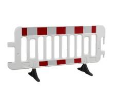 Barrière rapide plastique 2000 x 1000 mm Blanc avec réflécteur