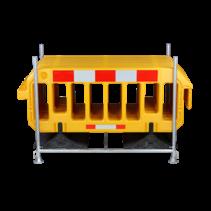 Dranghekken 2000 x 1000 mm  Geel - 15 stuks + transport stelling