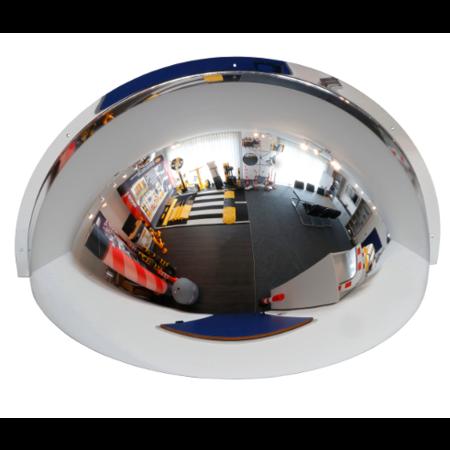 SalesBridges Industrieel 180° koepelspiegel professionele spiegel