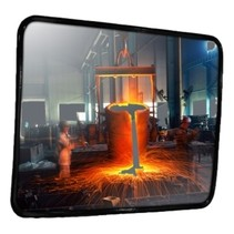 Industrial mirror stainless steel (inox)  Round / Rectangle
