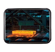 Industrial mirror stainless steel (inox)  Round / Rectangle resistant to temperatures up to 350 ° C