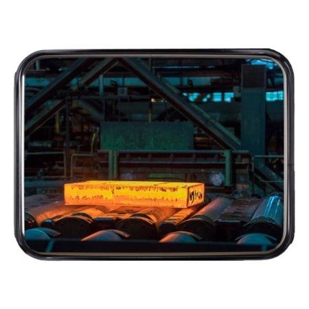 SalesBridges Industriële spiegel inox Rond / Rechthoek bestand tegen temperaturen tot 350 ° C