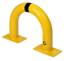 Hoop Protection Guard  from Steel Yellow/black