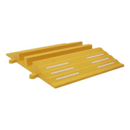 SalesBridges Kabelbrug Rubber Tot 40 Ton, Slang Kabel beschermer 75mm Ø