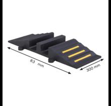 Kabelbrug Rubber Tot 40 Ton, Slang Kabel beschermer 75mm Ø