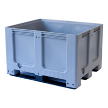 Big box plastic with closed walls 3 sledes with lid