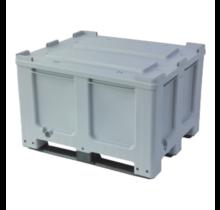 Big box plastic with closed walls 3 sledes