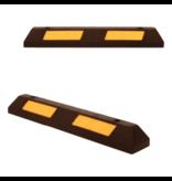 SalesBridges  Veilige parkeerstop van hard rubber met reflector 90 cm