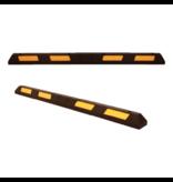 SalesBridges  Veilige parkeerstop van hard rubber met reflector 180 cm