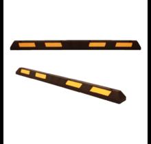 Veilige parkeerstop van hard rubber met reflector 180 cm