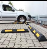 SalesBridges Safe parking stop made of hard rubber with reflector 180 cm