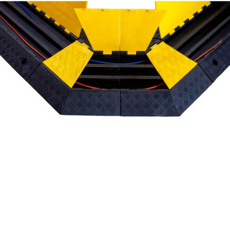 SalesBridges Kabelbrug 3 tunnels Ø 50 mm Kabel Bescherming