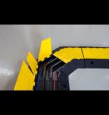 SalesBridges Kabelbrug 5 tunnels Ø 35 mm Kabel Bescherming 45° hoek