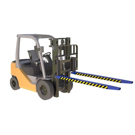 SalesBridges Forks extenders sleeves 1800mm for forklift with security pin