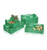 SalesBridges Eurokrat voor groente en fruit geperforeerd 60x40x18 cm