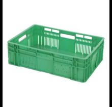 Bac en plastique pour fruits et légumes perforé  60x40x18 cm