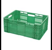 Eurokrat voor groente en fruit geperforeerd 60x40x24 cm