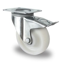 Swivel Wheel with brake Heavy Duty 150mm 800kg High Quality Polyamide