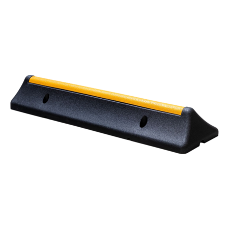 SalesBridges Heavy-duty veilige parkeerstop van hard rubber