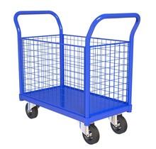 Chariot sur roues 4 cote 500kg 120x60