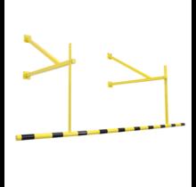 Limitation de hauteur pour sécurité et marquage jaune/noir 2400mm pour garage