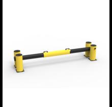 Laaddock poort en beschermd vangrail 2600 mm