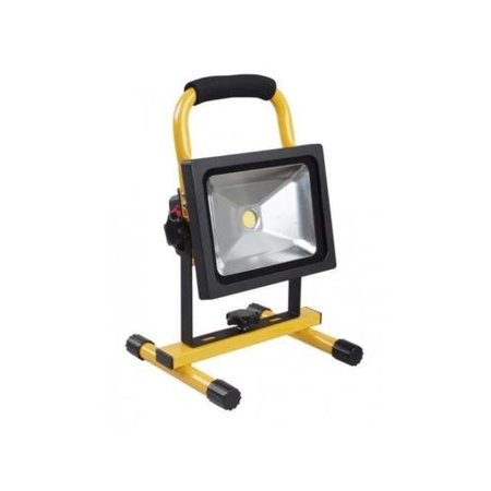 SalesBridges 20W LED Worklamp Floodlight with Battery 4 hrs Waterproof (IP65)
