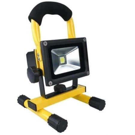 SalesBridges 10W LED Worklamp Floodlight with Battery 4 hours Waterproof (IP65)