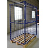 SalesBridges Cage Container steel H1600mm folding window