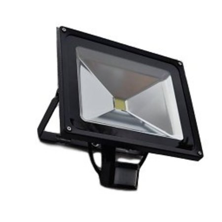 SalesBridges 50W 4000 lumen LED Floodlight with PIR Sensor Waterproof