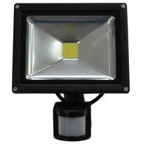 LED 20W Schijnwerper met PIR Sensor Bouwlamp 1600lm 6000K IP65