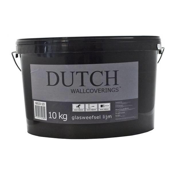 Dutch Wallcoverings Glasweefsel lijm 10kg - 50m2