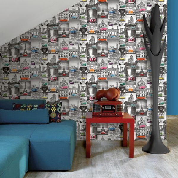 Dutch Wallcoverings Freestyle City Campers VW
