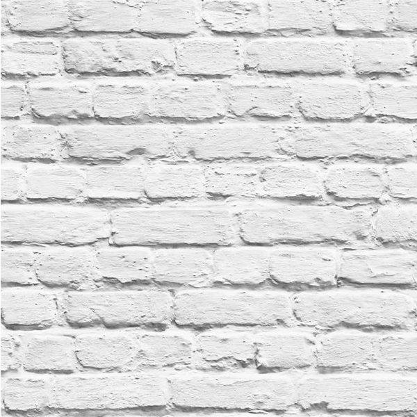 Dutch Wallcoverings Freestyle Baksteen - Wit