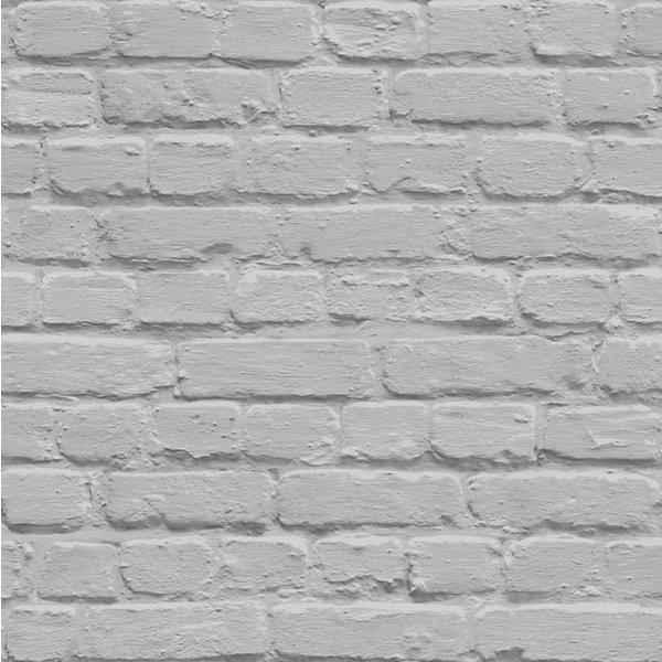 Dutch Wallcoverings Freestyle Baksteen - Grijs
