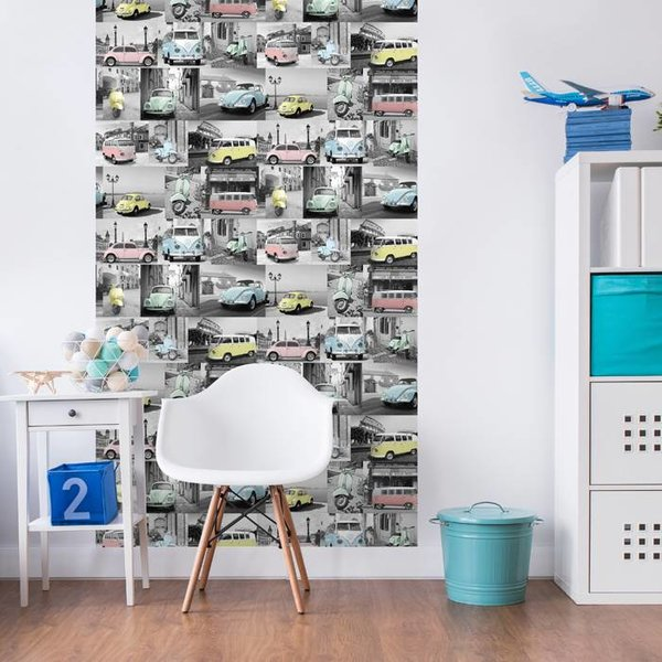 Dutch Wallcoverings Freestyle Volkswagen Collectie