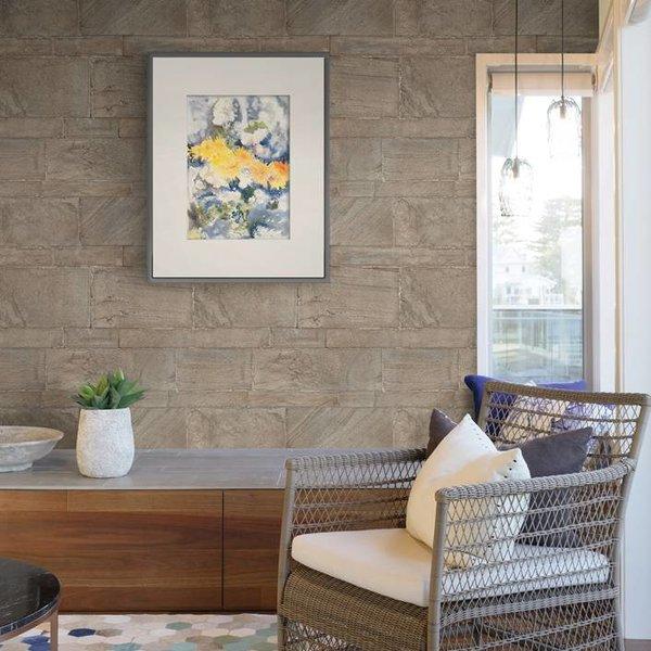 Restored Sandstone Wall - Beige