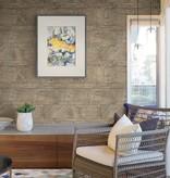 Dutch Wallcoverings Restored Sandstone Wall - Donker beige 24022