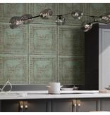 Dutch Wallcoverings Restored Salvaged Wood - Groen 24032