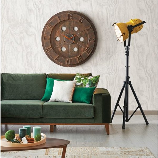 Restored Plywood - Grijs