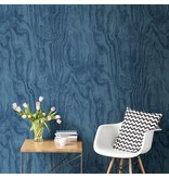 Dutch Wallcoverings Restored Plywood - Blauw 24041