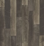 Dutch Wallcoverings Restored Antique Floorboards - Donker bruin 24048