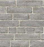 Dutch Wallcoverings Restored Baksteen - Donker grijs 24050