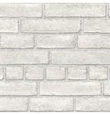 Dutch Wallcoverings Restored Baksteen - Licht grijs 24051