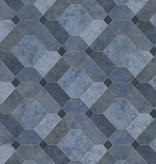 Dutch Wallcoverings Restored Devonshire - Blauw 24057